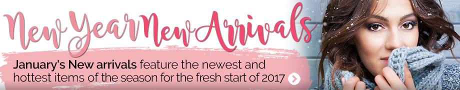 New Arrivals January 2017