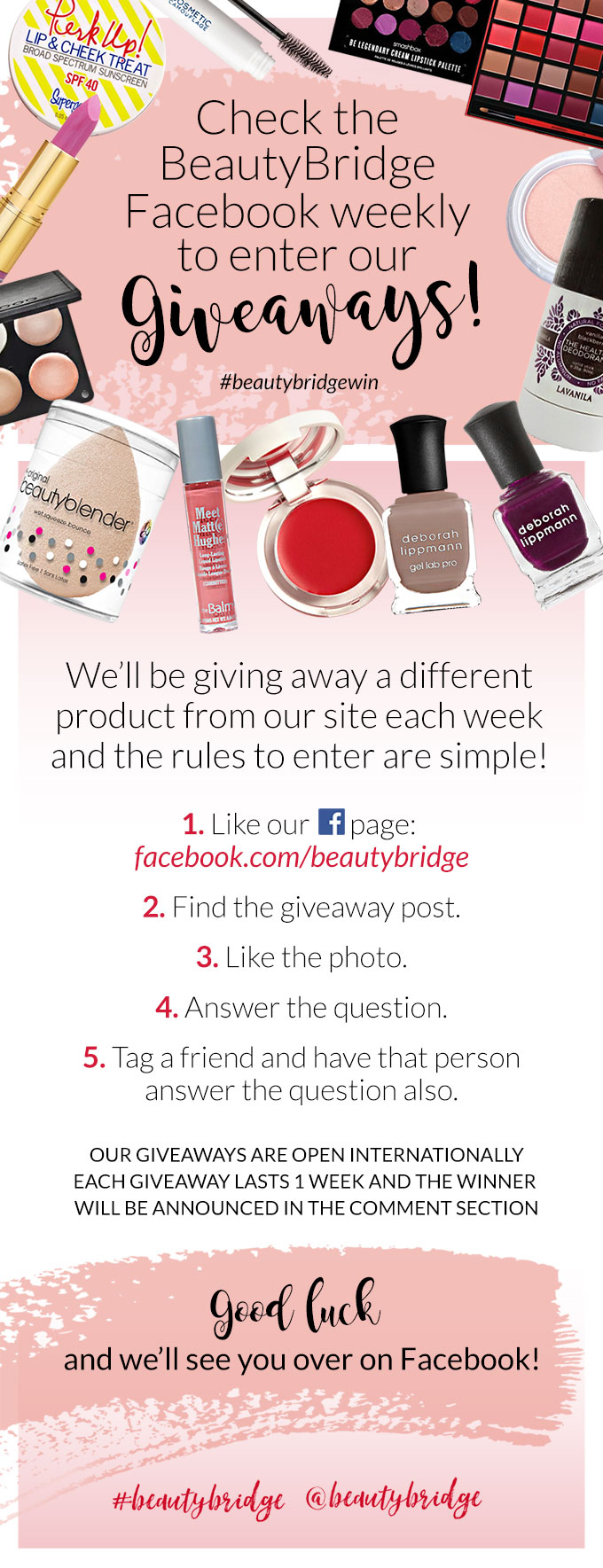 Beauty Bridge Giveaway